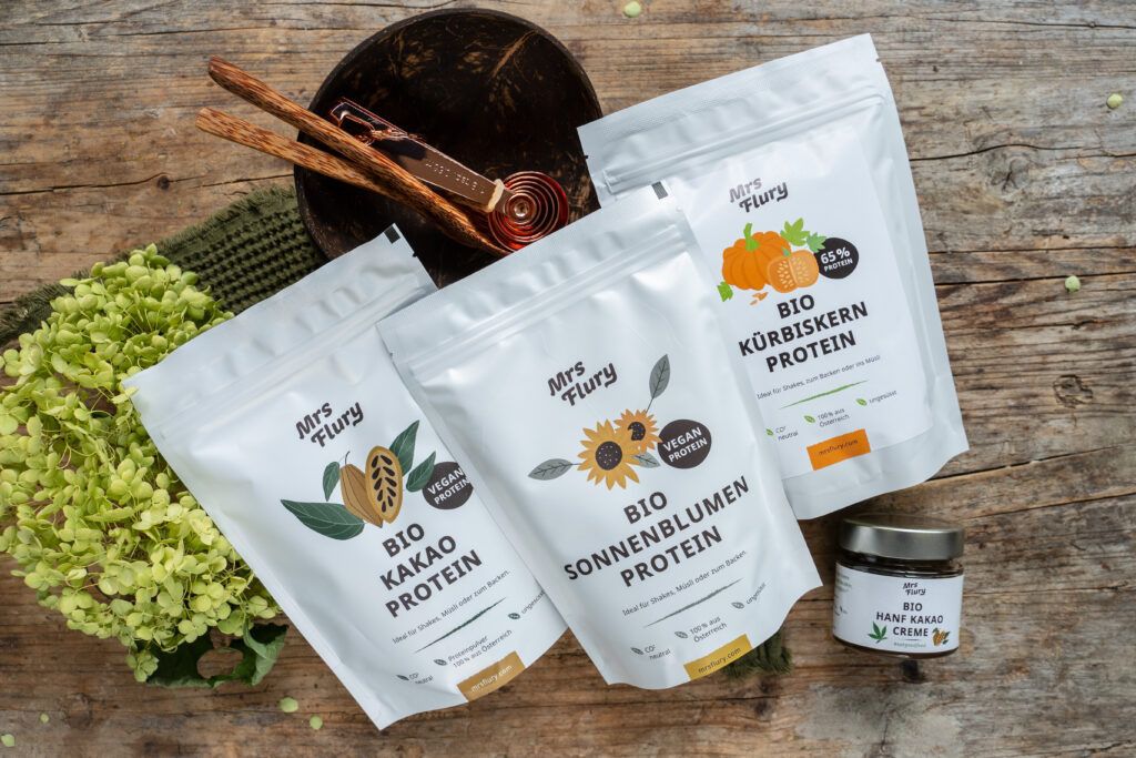 Bio Proteinpulver vegan Mrs Flury