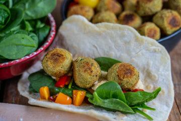 Falafel selber machen - Rezept ohne Frittieren Mrs Flury