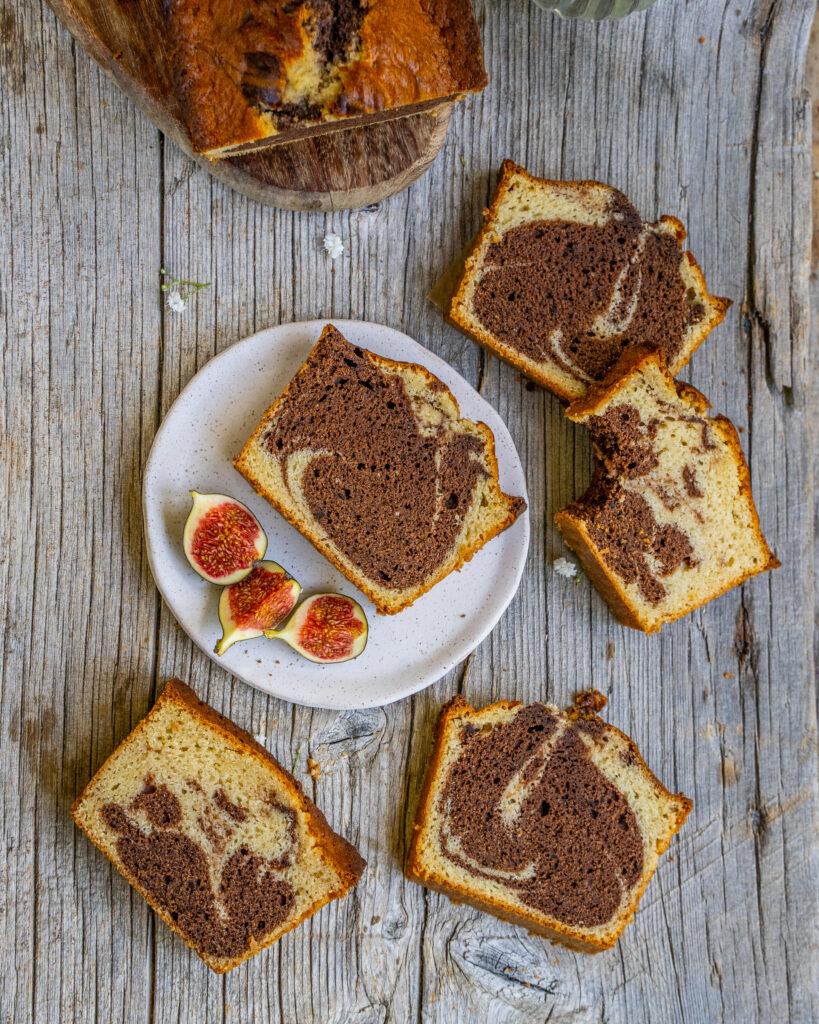 Saftiger, veganer Marmorkuchen Rezept Mrs Flury
