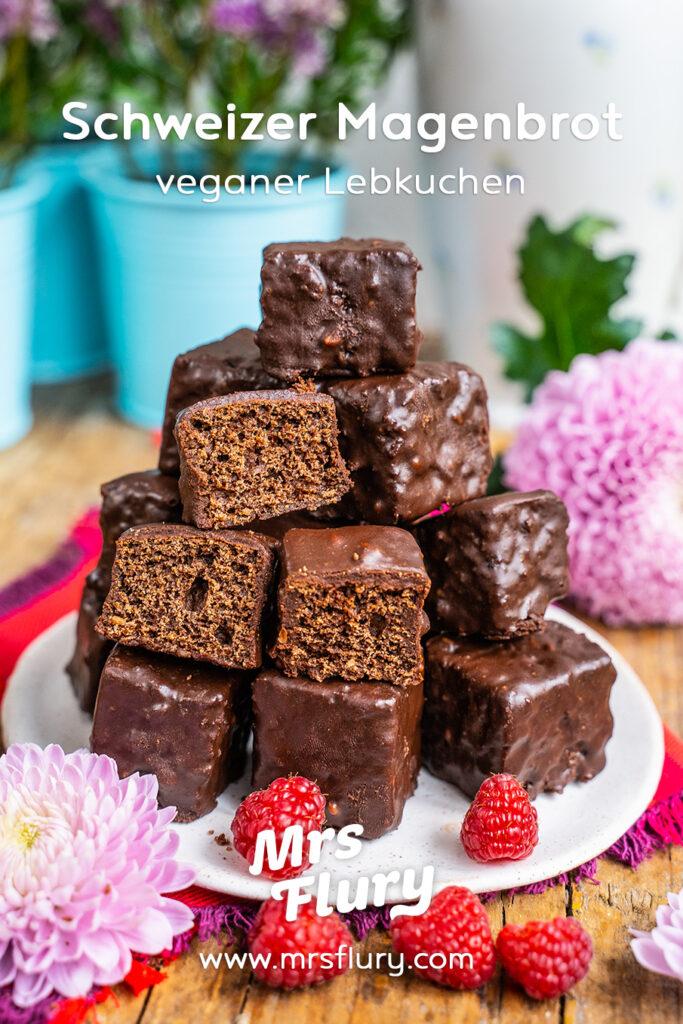 Schweizer Magenbrot Rezept - gesund und vegan - Mrs Flury