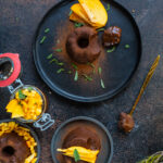 Gesunder Schokopudding vegan - 2 Zutaten Dessert Mrs Flury