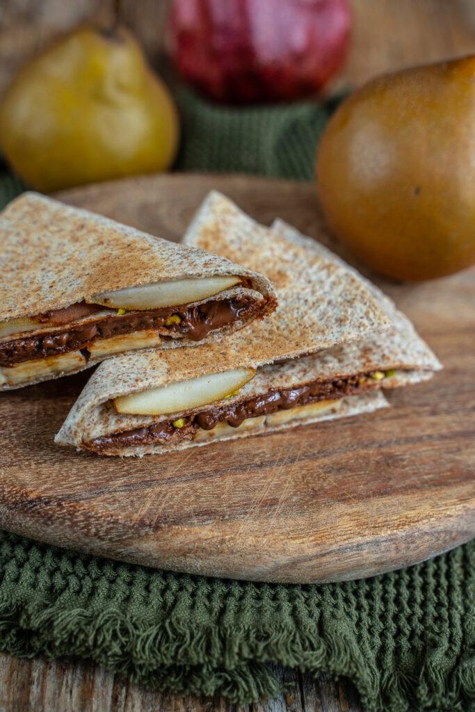 Tortilla Wrap Hack - Süsse Variante Bananen Wrap Mrs Flury