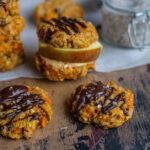 Gesunde Frühstückscookies mit Karotten vegan Mrs Flury