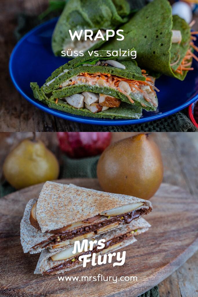 Tiktok Tortilla Wrap Hack Rezepte vegan Mrs Flury