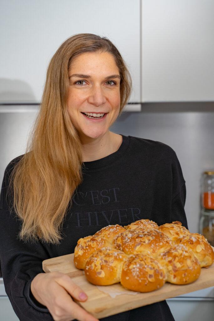 Dreikönigskuchen Rezept vegan Mrs Flury