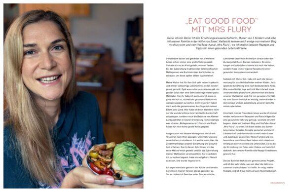 Mein Buch: Eat Good Vegan Food Mrs Flury