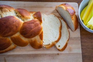 Veganer Zopf - Bestes Rezept Frühstückszopf Mrs Flury