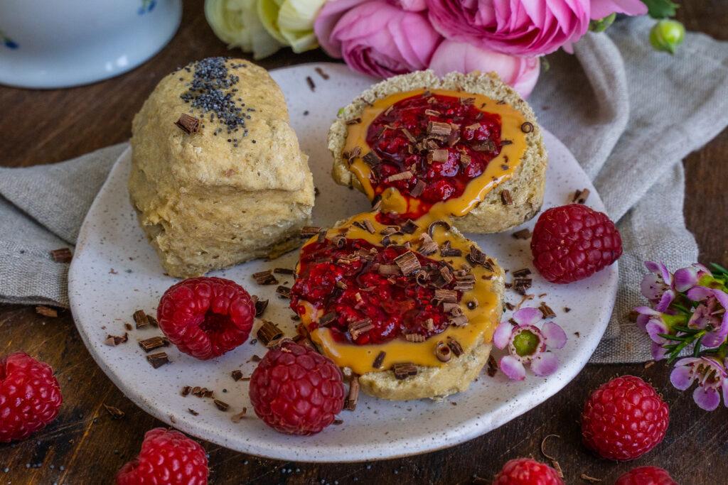 Protein Brötchen Rezept Mrs Flury Vegan Gesund