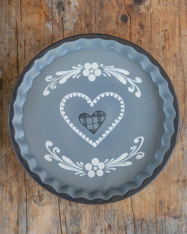 Tarte Form grau Mrs Flury backen früchtekuchen