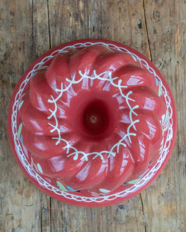Gugelhupf Form rot Mrs Flury Geschirr Keramik