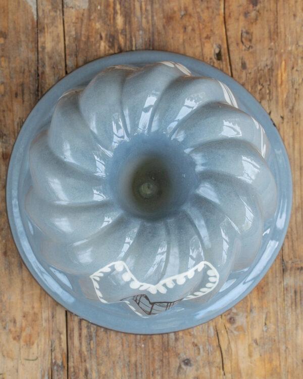Gugelhupf Form grau Mrs Flury Geschirr Keramik