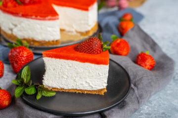 vegan cheesecake Mrs Flury