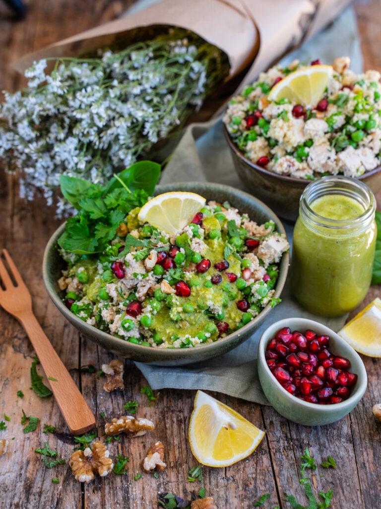 Protein Couscous Salat Mrs Flury Vegan Eat good food Alnatura Migros