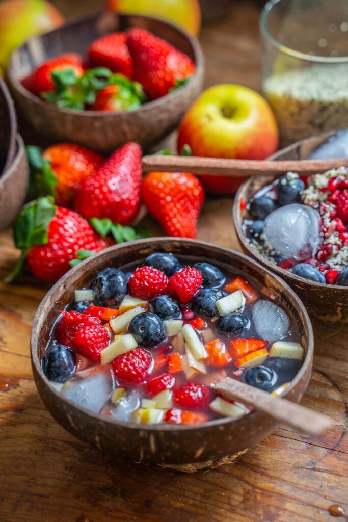 Nature's Cereal Rezept Tiktok Trend Frühstück Mrs Flury