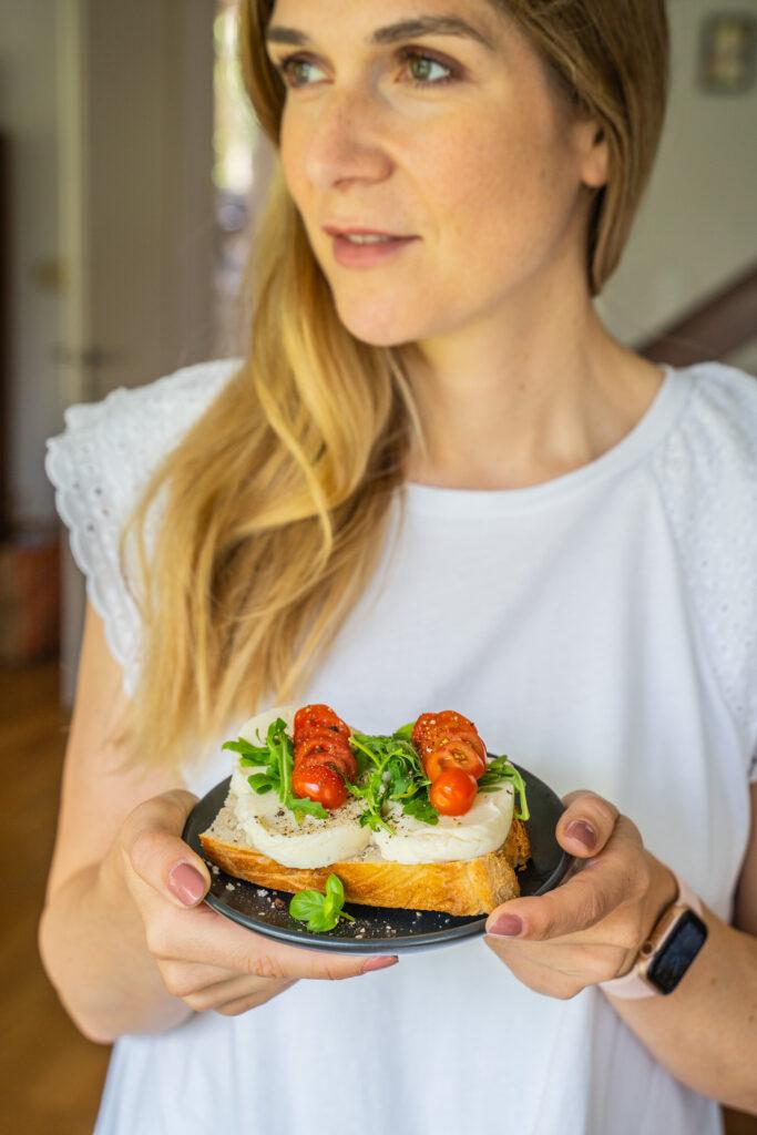 Veganer Mozarella Mrs Flury Eat Good Food
