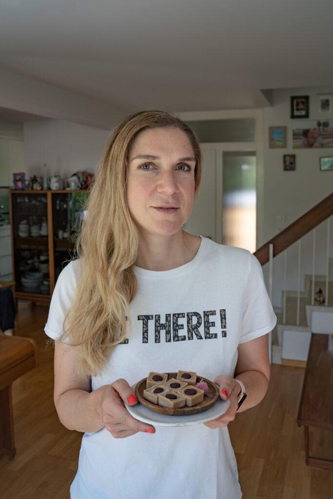 Low Carb Toffifee selber machen - gesund, vegan und zuckerfrei Rezept Mrs Flury