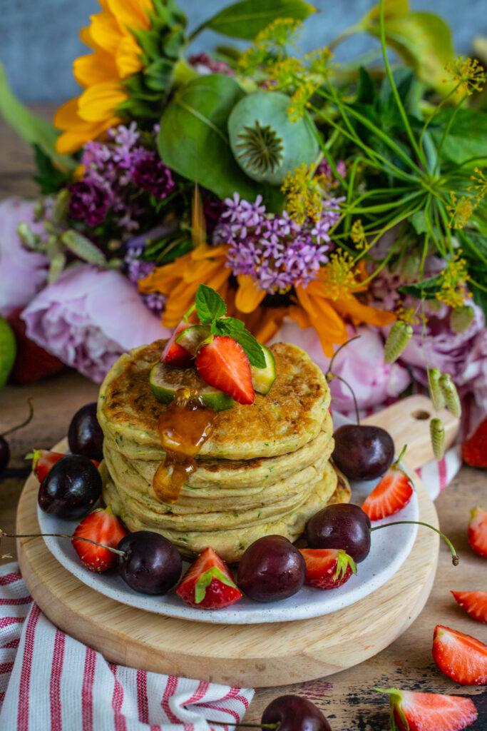 Zucchini Bread Pancakes Mrs Flury Eat Good Food