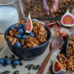Crunchy Granola Rezept vegan Mrs Flury