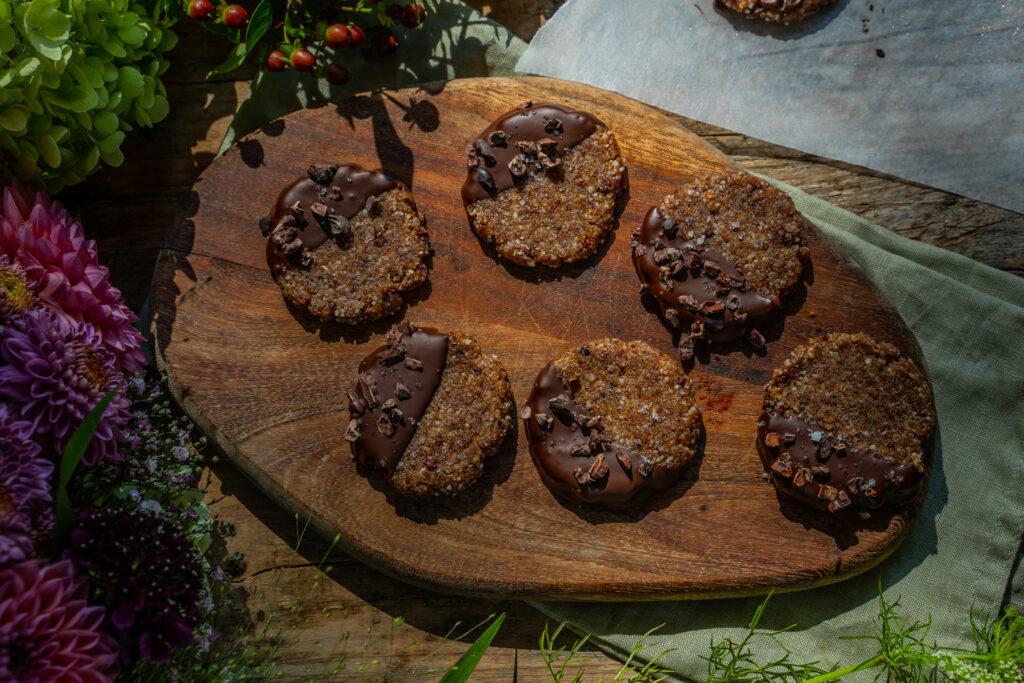 No Bake Raw Cookies Mrs Flury Vegan Rezept